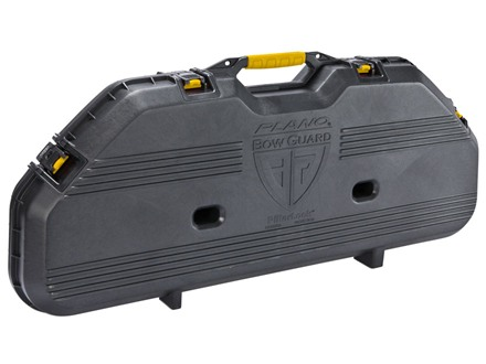 Plano AW All Weather Series Bow Case Polymer Black and Yellow