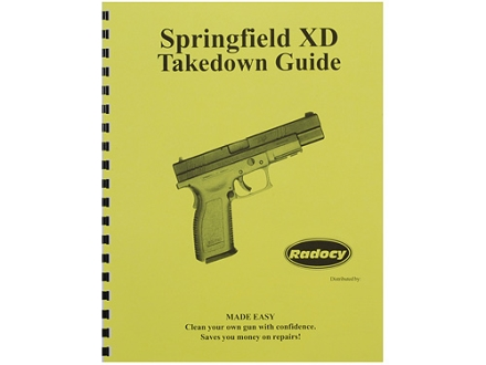 "Radocy Takedown Guide ""Springfield XD"""