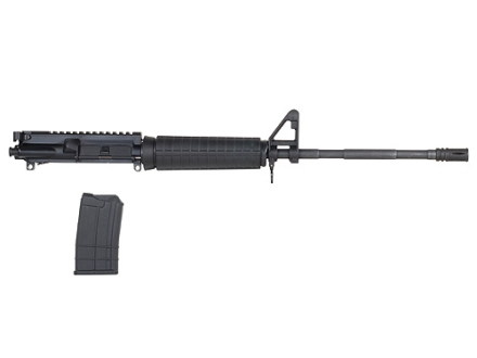"ATI AR-15 A3 T-14 Upper Assembly 410 Bore 20"" Barrel Chrome Moly Matte with Flash Hider, 5-Round Magazine"
