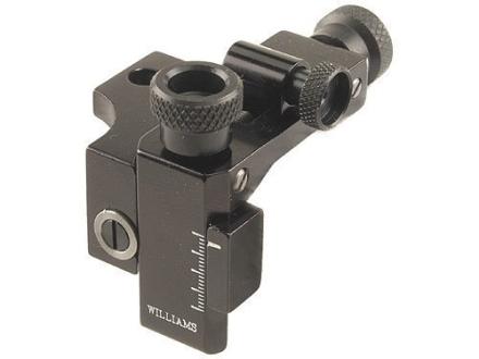 Williams FP-T/C Receiver Peep Sight with Target Knobs Thompson Center Contender Pistol, Carbine Aluminum Black