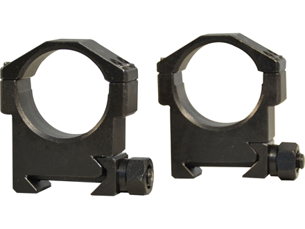 Valdada IOR 30mm Tactical Heavy Duty Picatinny-Style Rings Steel Matte Medium