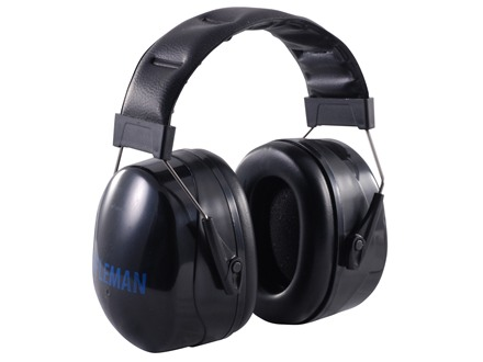 BenchMaster Rifleman P30 Ear Muffs (NRR 30dB) Black