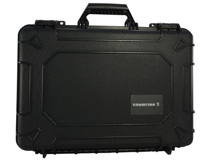 "Condition 1 10801 Hard Case 17.5"" x 11.9"" x 6.2"" Polymer Black"