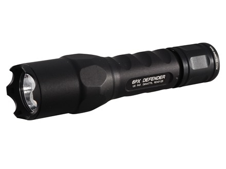 Surefire 6PX Defender Flashlight LED Bulb Aluminum Black