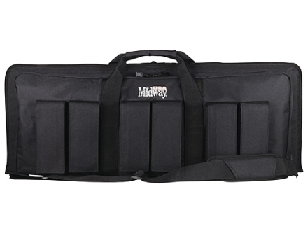 MidwayUSA Pro Series Tactical Rifle Case PVC Coated Polyester