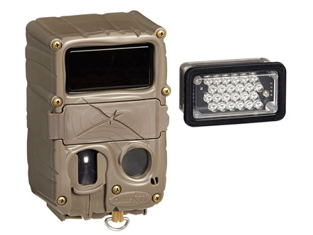 Cuddeback Double Interchangeable Infrared/Black Flash Infrared Game Camera 20 Megapixel Brown