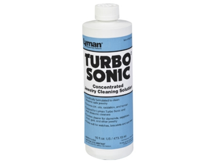 Lyman Turbo Sonic Ultrasonic Jewelry Cleaning Solution 16 oz Liquid