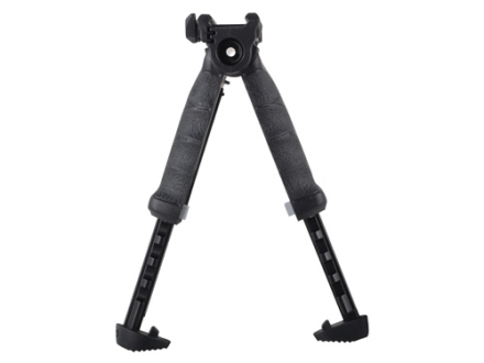 Mako T-Pod Vertical Forend Grip with Rotating Bipod Quick Release Mount Polymer Black
