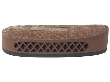 "Pachmayr F325 Deluxe Field Recoil Pad Grind to Fit 1.15"" Large with Stippled Face Brown"