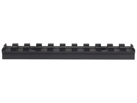 "Advanced Technology Picatinny Rail 4"" Fits Advanced Technology 8-Sided Modular Handguard Aluminum Black"