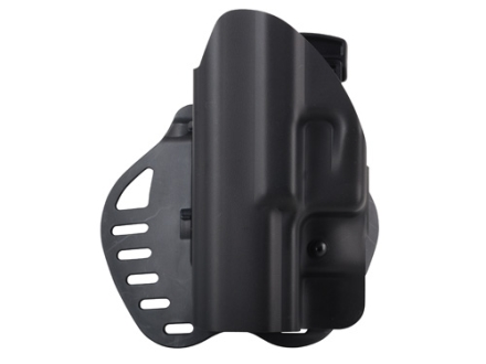Hogue PowerSpeed Concealed Carry Holster Outside the Waistband (OWB) Left Hand Walther P99, HK USP 9, 40 Polymer Black
