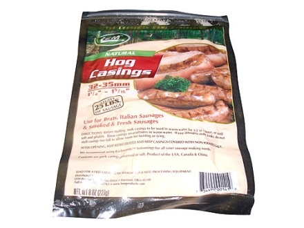 LEM Natural Hog Sausage Casing 8 oz Bag