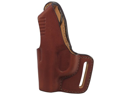Bianchi 75 Venom Outside the Waistband Holster Left Hand Springfield XD-S Leather Tan