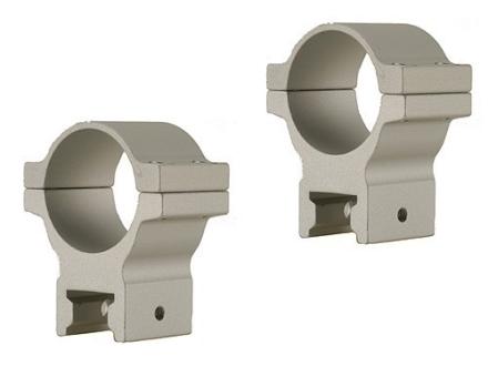 "Thompson Center Gorilla Grip 1"" Rings Silver Medium"