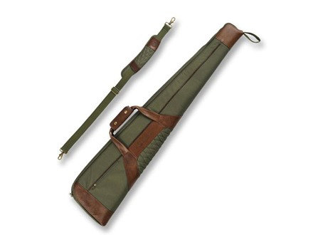 "Beretta B1 Signature 49"" Rifle Case Canvas/Leather Loden Green/Brown"