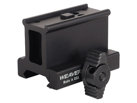 Weaver Tactical Aimpoint Micro Sight Mount Picatinny-Style Matte