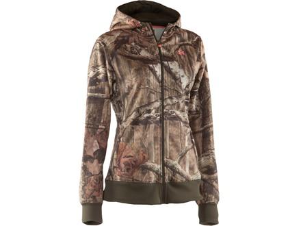 Under Armour Women's Camo Full Zip Hooded Sweatshirt