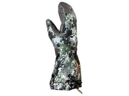 Sitka Gear Incinerator Mitt Glove Polyester Gore Optifade Elevated Forest Camo Medium