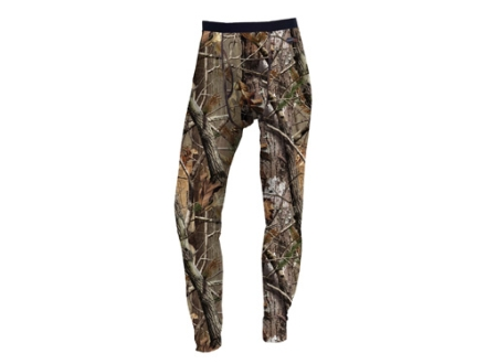 "Russell Outdoors Men's Base Layer Pants Polyester Realtree AP Camo Large 38-40 Waist 33"" Inseam"