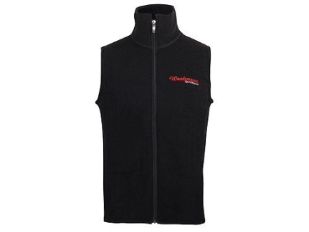 Wool Power Men's Vest 400 Gram Insulated Wool Black 2XL 48-51