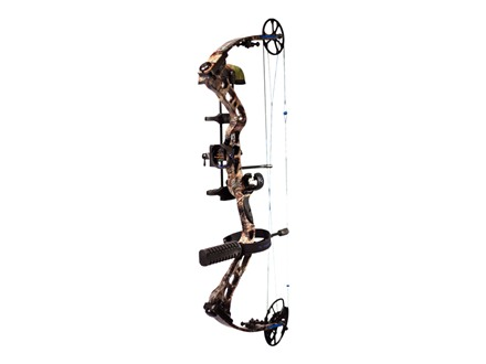 "Quest Torrent XD Compound Bow Package Right Hand 50-60 lb 25-1/2""-30"" Draw Length Realtree AP Camo"