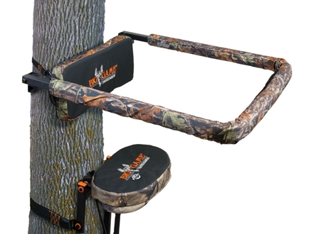 Big Game Universal Shooting Rail Treestand Shooting Rail Steel Matrix Camo