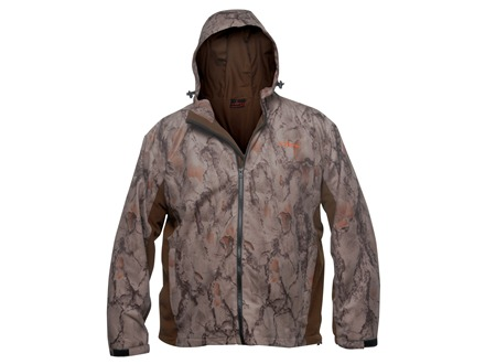 Natural Gear Men's Scent Factor Waterproof Jacket Polyester Brown and Natural Gear Natural Camo Medium 38-40
