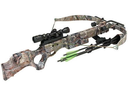 Excalibur Equinox Crossbow Package with Shadow Zone Illuminated Scope Realtree AP HD Camo