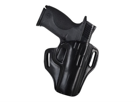 Bianchi 57 Remedy Outside the Waistband Holster Right Hand Smith & Wesson M&P 9mm, 40 Leather Black
