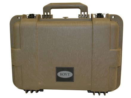 "Boyt H16 Pistol Gun Case with Foam Insert 20"" x 14-1/2"" x 6-1/2"" Polymer Flat Dark Earth"