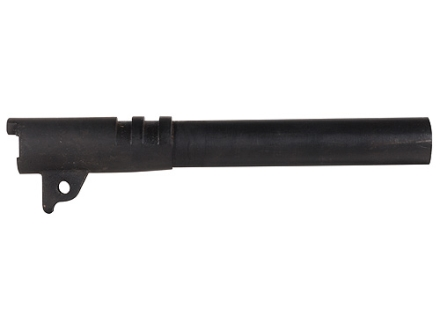 "Swenson Semi Drop-In Barrel 1911 40 S&W 1 in 16"" Twist 5"" Government Steel Matte Black"