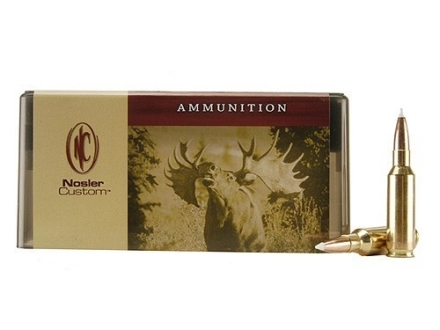 Nosler Custom Ammunition 300 Remington Short Action Ultra Magnum 200 Grain AccuBond Spitzer Box of 20
