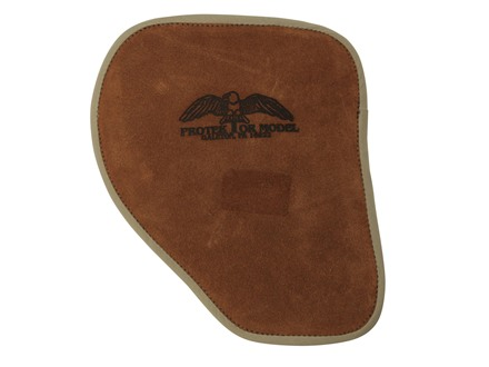 "Protektor Shoulder 3/8"" Recoil Pad Right Hand Leather Tan"
