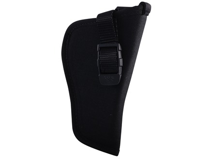 "GrovTec GT Belt Holster Right Hand with Thumb Break Size 1 for 3-4"" Barrel Medium Frame Semi-Automatics Nylon Black"