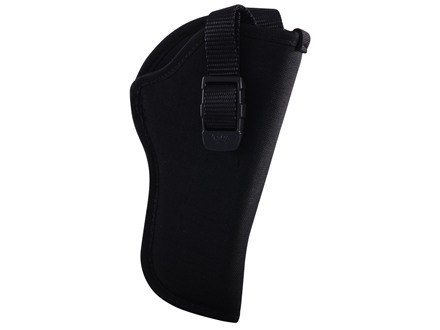 "GrovTec GT Belt Holster Right Hand with Retention Strap Size 2 for 3-4"" Barrel Medium and Large Frame Double Action Revolvers Nylon Black"