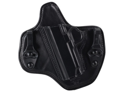 Bianchi Allusion Series 135 Suppression Tuckable Inside the Waistband Holster Left Hand 1911 Leather Black