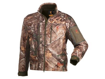Browning Men's Hell's Canyon Jacket Polyester Realtree Xtra Camo 2XL 49-51