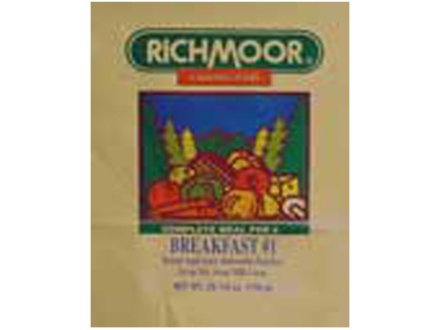 Richmoor Breakfast #1 Freeze Dried Meal Combo