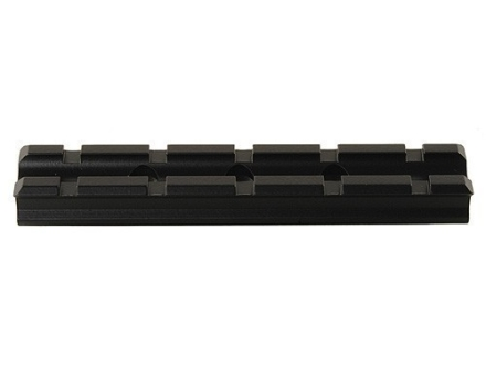 Volquartsen 1-Piece Weaver-Style Base Remington 597 22 Long Rifle, 22 Magnum Aluminum Black