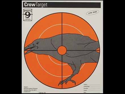 "Hoppe's Crow Target 10-1/2"" x 12"" Package of 20"