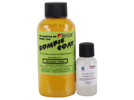 Lauer DuraCoat Zombie Coat Firearm Finish Biohazard Yellow 4 oz