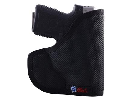 DeSantis Nemesis Pocket Holster Ambidextrous Glock 26, 27 Kel-Tec P11, P40, S&W M&P 9C/40C, S&W M&P Shield, Taurus 709 Slim Nylon Black