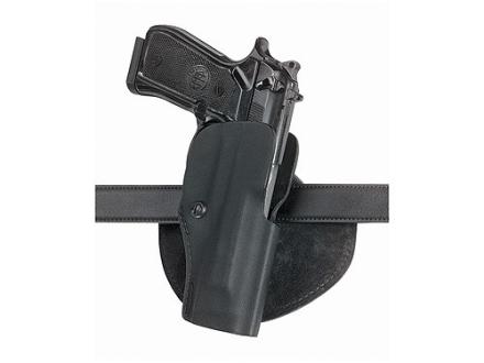 Safariland 5182 Paddle Holster Right Hand Beretta 92F, Taurus PT92C, PT99C, PT92 Polymer Fine-Tac Black