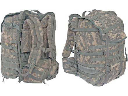 Military Surplus MOLLE II Large Rucksack Complete Assembly Nylon Army Universal Camo