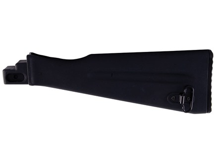 Arsenal, Inc. Buttstock NATO Length AK-47, AK-74 Stamped Receivers Polymer Black
