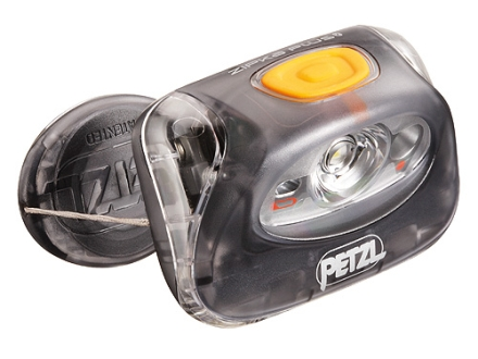 Petzl Zipka Plus 2 Headlamp White LED with Batteries (LR03) Polymer Gray