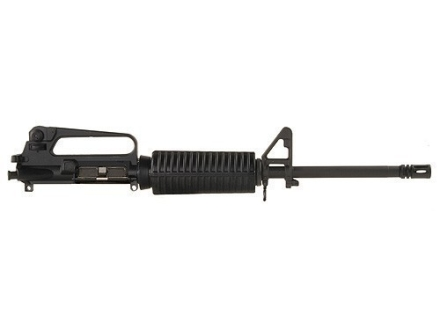 "DPMS AR-15 A2 Upper Assembly 5.56x45mm NATO 1 in 9"" Twist 16"" Barrel Chrome Moly Matte with GlacierGuard Handguard, A2 Front Sight, Flash Hider"