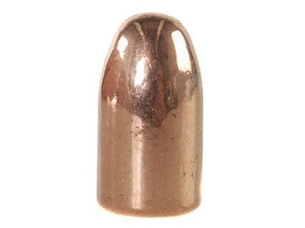 Rainier LeadSafe Bullets 38 Caliber (357 Diameter) 158 Grain Plated Round Nose