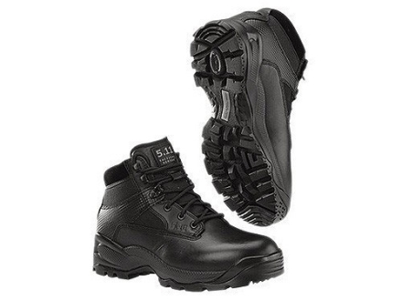 "5.11 ATAC Low 6"" Unisulated Boots Leather and Nylon Black Mens"