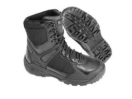 5.11 XPRT Tactical Waterproof Uninsulated Boots Leather And Nylon Black Mens